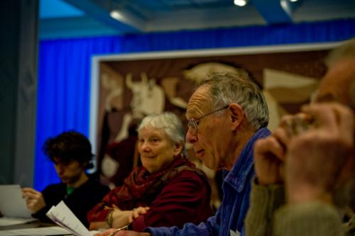 Whitechapel Gallery committee meeting