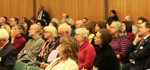 The launch was well attended by Conscience members